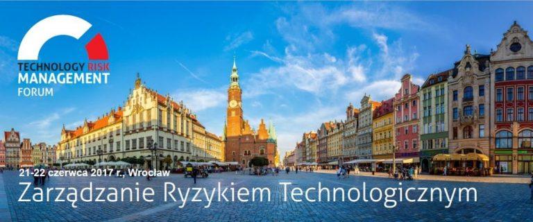 Jadę na Technology Risk Management Forum 2017!
