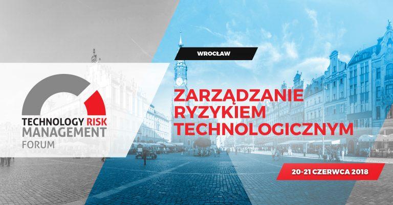 Jadę na Technology Risk Management Forum 2018!