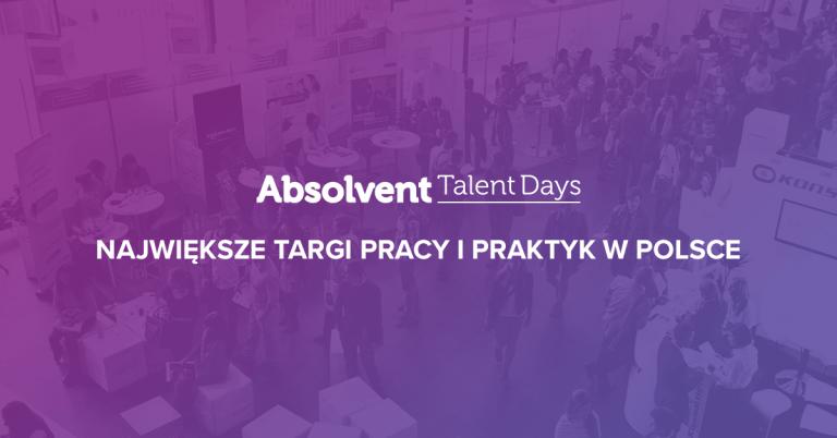 Jade na Absolvent Talent Days… jako prelegent!